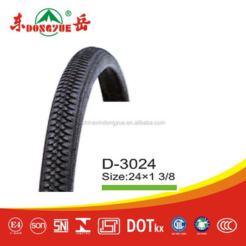 china factory bicycle / bike tire size : 24''*1 3/8