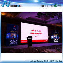 Rental Led Video Display Screen 3.91mm Indoor stage Background P3.91 Led Display led panel