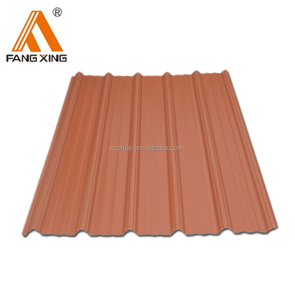 Chinese Environment Protection Advanced ASA Film Corrugated Roofing Sheets