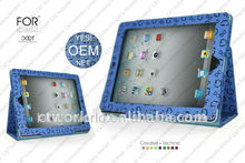 2013 hot sale leather case for 9 7 inch tablet pc
