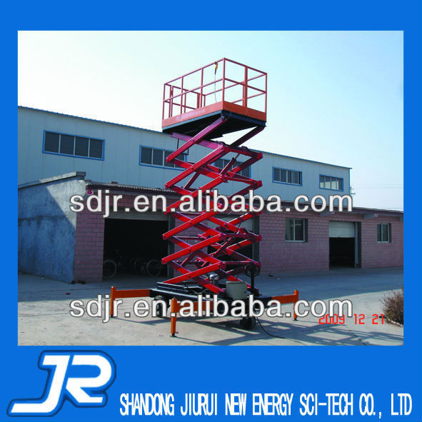 Hydraulic scaffolding With Four Wheels FOR high sky working