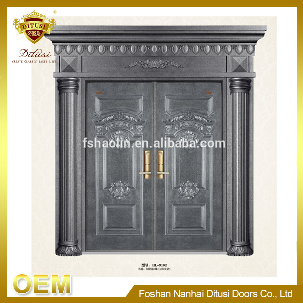 Security design of main gate for house HL-9102