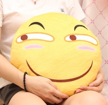Funny face cushion