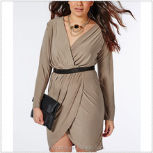 Online shopping plus size women clothing frock design for cutting summer 2015 HSD6187