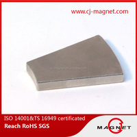 strong neodymium magnet permanent block for dc motor