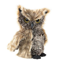 St plush owl toys with plastic nose and eyes high quality toys