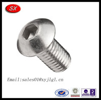 Customized auto machine screw Stainless steel hex threaded screw for agriculture machines and furniture parts