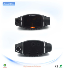 Black Cone Digital Car Camcorder ,Car Recorder Camera With Led Fill Light Support Night Vision