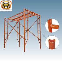 Construction Mobile Steel Frame Scaffold from Real Factory in Guangzhou