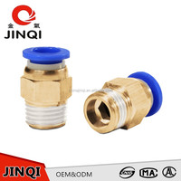 Factory supply Straight Male Female Threaded Brass Pipe Fitting,Pneumatic Copper Brass fitting