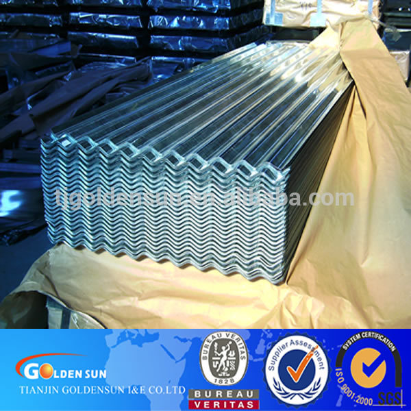 Top Quality Corrugated Galvanized Steel Sheet 0.2mm Thick for Roofing
