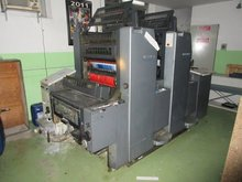 Heidelberg SM 52-2 used offset sheet-feed 2-colour printing machine