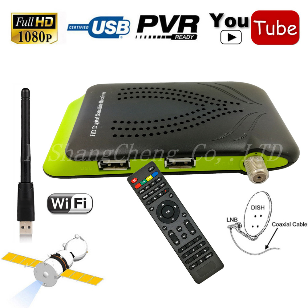 2017 Digital <strong>Satellite</strong> Receiver DVB-S2 With HD AC3 Audio 1080P Set Top Box Dual USB Support Wifi Cccam Gscam Power Vu Youtube