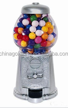 Mini Kids Gumball Candy Machine Wih 9inch 11inch 15inch
