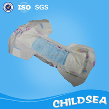 PE backsheet and PP tape disposable daily baby diaper
