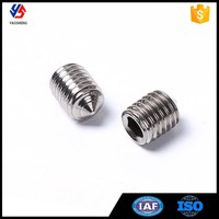 Fasteners Hardware Stainless Steel Hex Socket Set Hollow Screw