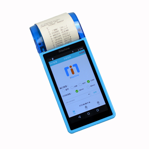 Android Touch POS Handheld Smart POS terminal with 3G WIFI Bluetooth Barcode Scanner Thermal Printer