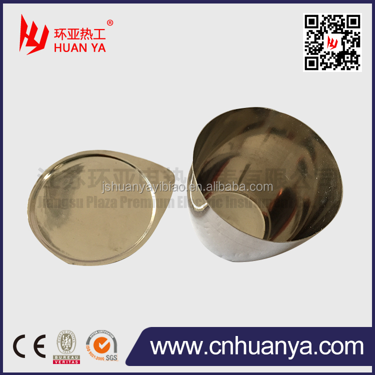 25ml/30ml/50ml/100ml laboratory 99.95% high purity platinum crucible price for melting