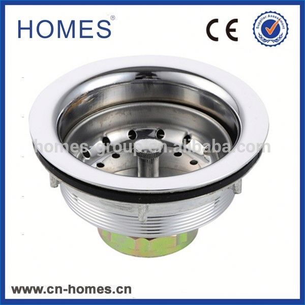 High Quality China Supply Pop Up Chrome plated Overflow Sink Basin Waste Assembly