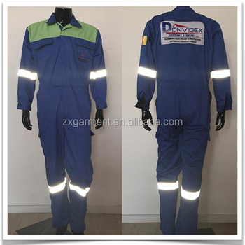 Custom Color Mining Industry Operator Good Quality Coveralls with Reflective Tape