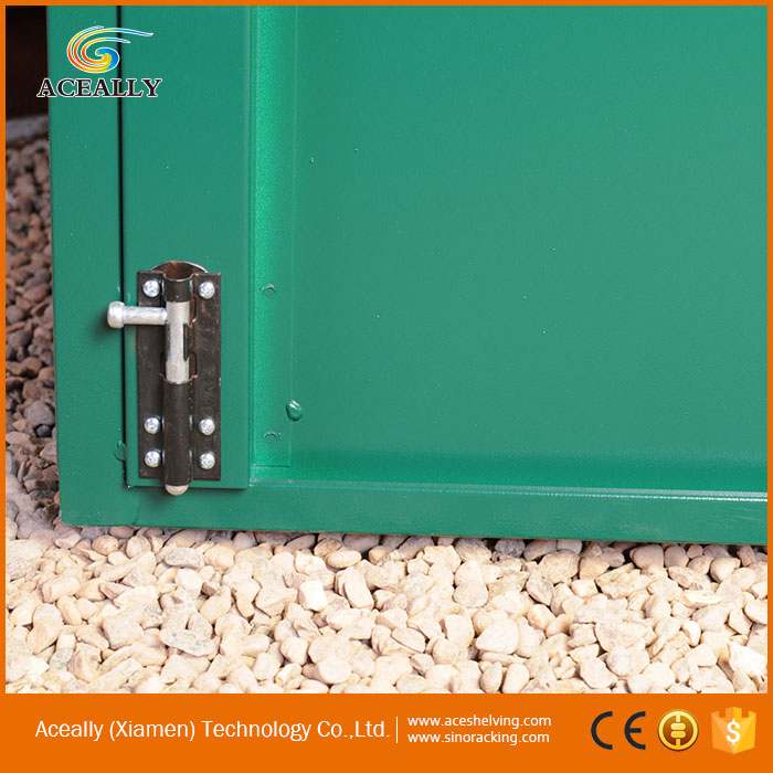 wholesale high quality outdoor metal bike locker for sale