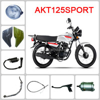 Chinese motorcycle engine & turn signals for a bicycle & bike AKT 125 SPORT
