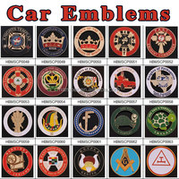 Custom Masonic Metal Car Emblems