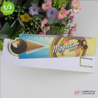 China Manufacture customized Advertising plastic 15cm promotional ruler