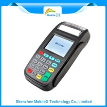 Best price of wireless handheld POS terminal linux lottery ticket printing machine with LAN(Ethernet)