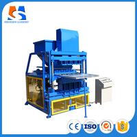 Big discount SHM4-10 block and interlocking making machine with clay soil