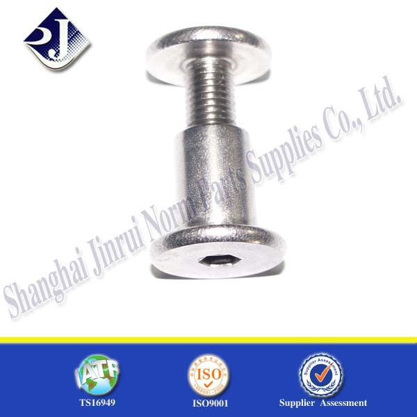 chicago screws sex bolts galvanized steel male and female screw