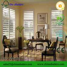 Custome made CE standard professional pvc shutters