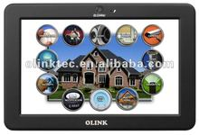 Olink 7 inch mobile internet device (MID) with Touch, WiFi, LAN, RS232 for home automation