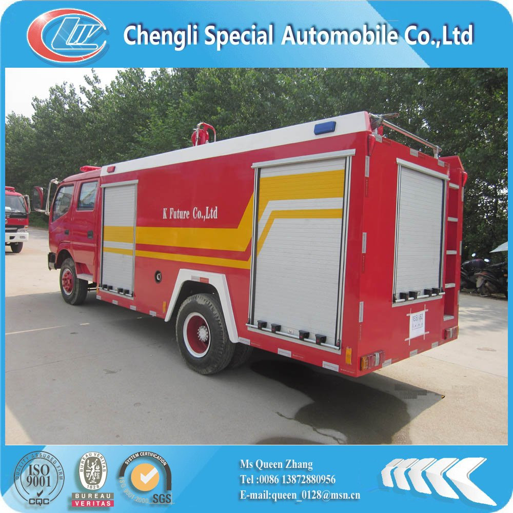 Dongfeng 3tons size of fire truck