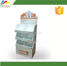 Customized printing wholesale Blank cardboard display boxes