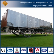 fast building prefabricated unit living container house