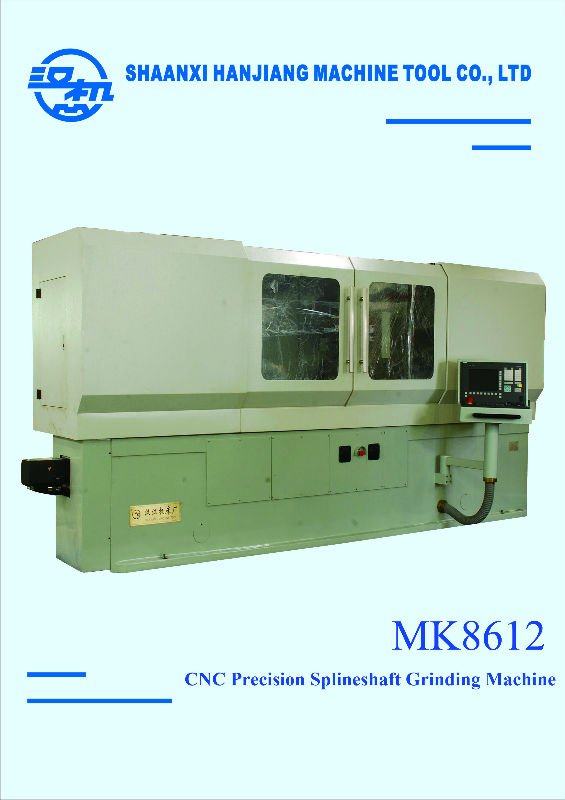 CNC high Precision spline shaft grinding machine MK8612