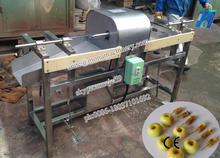 New type large capacity apple peel core and slice machine with lowest price