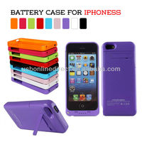 2200mAh for iphone5s external power battery case