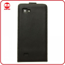 Hot Selling Vertical Magnetic Colse Genuine Flip Leather Flip Case for LG P880