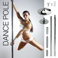 Exercise Dance Pole Workout Cardio Aerobics Abdominal Weight Loss Equipment