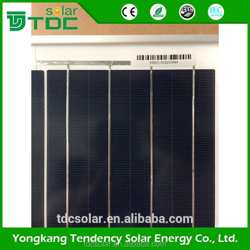 Promotional cheap 5BB 260w 270w 280w PV poly solar panel for sale and solar energy system home