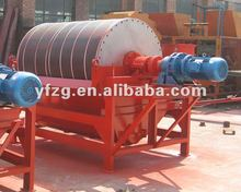 Magnetic separator for magnetite/copper ore