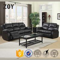 Zoy Used Bonded Leather Recliner Sofa