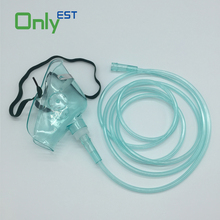 CE/ISO/FDA approved Disposable plastic medical PVC oxygen face mask