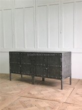 industrial style vintage metal cabinet furniture