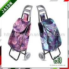 steel hand trolley golf bag travel cover