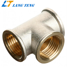 OEM Investment Casting Brass 3 Way Pipe Fitting