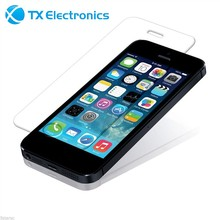 cheap plastic polycarbonate scratch resistant phone case color mirror front tempered glass screen protector for iphone 6