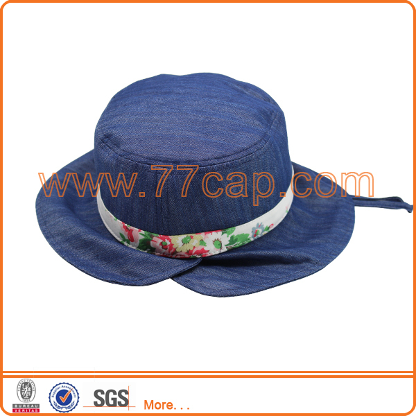 Baby Children's Hat Cotton Jeans Bucket Hat